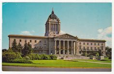 Postmarked October 1983 - In VG Condition Postcards, Places To Visit, Coast, October, Canada, Mansions, House Styles, City, Building