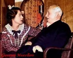 Renata Tebaldi and Tullio Serafin (Photo edited by Giovanni Mascellaro)