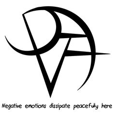 """Negative emotions dissipate peacefully here"" sigil requested by anonymous Sigil requests are closed."