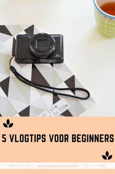 5 vlog tips voor beginners (van Sanvy.