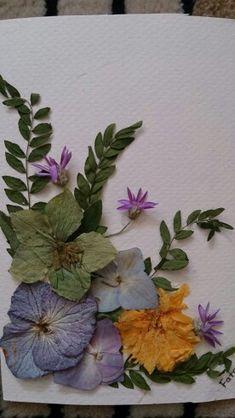 My work #Floressecas