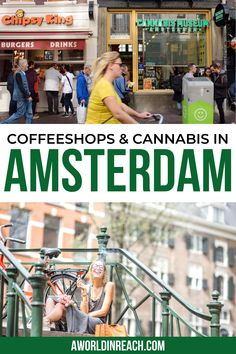 Many tourists visit Amsterdam for the chance to smoke a joint at a coffeeshop or try out cannabis edibles. Planning a trip to Amsterdam? Check out this guide on coffeeshops and cannabis in Amsterdam! / Things to do in Amsterdam / Amsterdam travel tips / Netherlands travel tips / things to do in the Netherlands / things to do in Europe / smoke weed in Amsterdam / marijuana in Amsterdam #Amsterdam #CannabisInAmsterdam #Netherlands #CoffeeshopsInAmsterdam #TravelTips #Europe European Travel Tips, Europe Travel Guide, Europe Destinations, France Travel, Amsterdam City Guide, Visit Amsterdam, Amsterdam Travel, Europe Bucket List, Cannabis Edibles