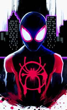 Miles Morales Ultimate Spider Man Into The Spider Verse Spider