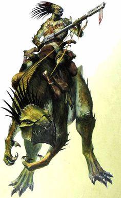 Warhammer 40k: Mounted Kroot