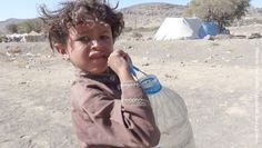 boy carrying a large bottle water. Your Ability has advised me that the dangers Yemeni children face goes far beyond the cluster bombs and sniper's indiscriminately targeting civilians of all ages. I have been told from several sources in Yemen that a child as young as five-years-old will be sent out alone on an arduous search for gas and water, putting them at risk and vulnerable to many obstacles and crimes against children - including abductions, abuse, exploitation, and even burning of…