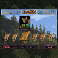 Check out PUMA Wild - Give to support this educational game and have first access as beta tester   #causes  https://www.causes.com/actions/1755564-educational-game-to-create-greater-awareness-around-pumas?ctm=home