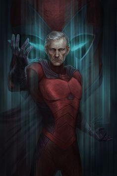 Resultado de imagen para x men magneto comic