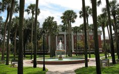 Sampson Hall at Stetson University in Deland, Florida