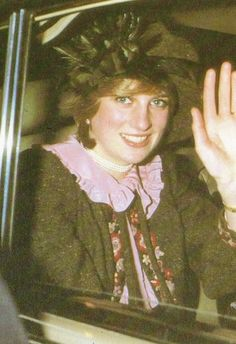 November 20, 1981: Princess Diana opens a Post Office handling depot in Northampton near her family's home.