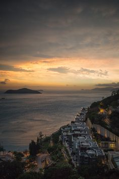 Repulse Bay at Sunset, Hong Kong   One of my favorite birthday party spots growing up! #ChildhoodMemories