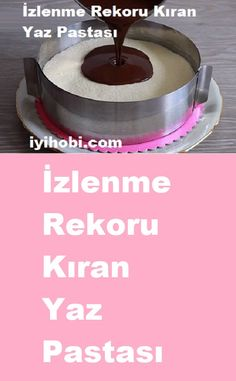 sağlıklı yemekler – The Most Practical and Easy Recipes Easy Cake Recipes, Dessert Recipes, Desserts, Brownie Cheesecake, Diet And Nutrition, Chocolate Cake, Cupcake Cakes, Bakery, Food And Drink