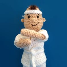 Need to make this for TJ and a girl for Lili. :) Taekwando Martial Arts Doll Amigurumi Pattern