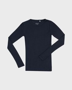 Name it T-shirt i regular fit – Mørkeblå
