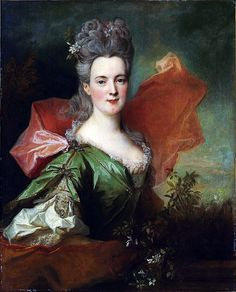 Studio of Nicolas de Largillière (1656-1746): Portrait of a lady. Early 18th century.