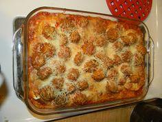 8/23/13***Meatball Sub Casserole - very tasty. Hubby liked it! :)