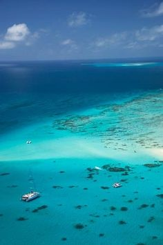 Amazing Upolu Cay, North Queensland, Australia – aerial