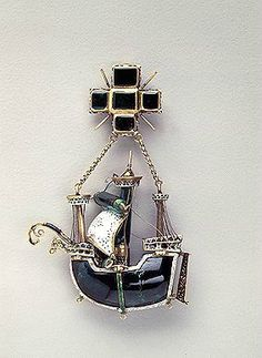 Caravel Pendant, c. 1580-1590, the State Hermitage Museum