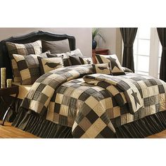 Check out the deal on Kettle Grove Queen Quilt at Primitive Home Decors
