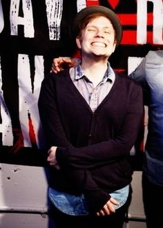 Yes this is our hard core punk rock band lead singer, patrick stump