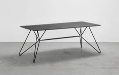 Sketch Together, bord, table, black, Houe, design, danish design, 365 North, Henrik Pedersen