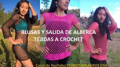 Blusas tejidas a crochet y salida de alberca tejido a crochet - TEJIDOS ...