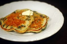 spinach pancakes whats for dinner tonight essential-to-life