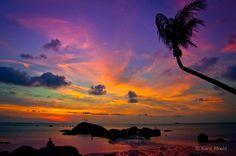 Koh Phangan Sunset by Martin Kara Maehl