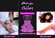 Tratamiento anti a-age. Super promo!!!!!!! para verte esplendida !!!!. $380 en efectivo , con tarjeta $480 #Anti-AgeFacial - Ana Stilos…