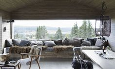 my scandinavian home: A magical Norwegian mountain cabin