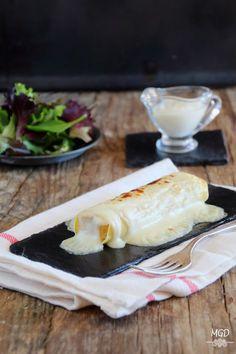 Mi Gran Diversión: Canelones de pollo a la catalana Pasta Al Dente, Gourmet Sandwiches, Good Food, Yummy Food, Rice Pasta, Food Decoration, Sin Gluten, How To Cook Pasta, Tapas