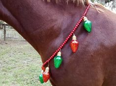 Christmas Ornament Necklace for Horses  Holiday by MyBuddyBling