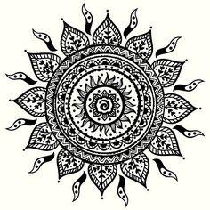 Image result for circle mandala tattoo designs