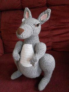 Kangaroo Amigurumi