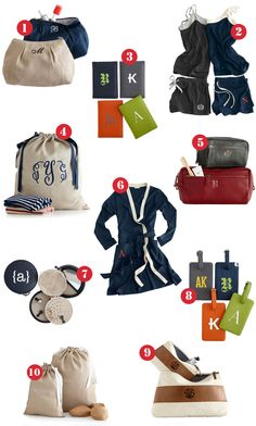 Travel in Personalized Style #travel #gear