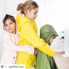 Rainwear from Gosoaky 💛 Rain Wear, Rain Drops, Rain Jacket, Kids Fashion, Windbreaker, Raincoat, Celebrities, Fun, Clothes