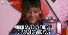 I am Lisa Turtle. Which Saved By The Bell Character Are You? Take the quiz to…