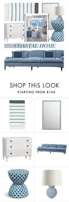 """Coastal Decor"" by kathykuohome ❤ liked on Polyvore featuring interior, interiors, interior design, home, home decor, interior decorating, WALL, Coastal, coastalliving and coastalhome"