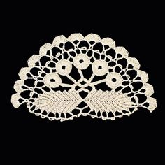 Czereśnie na liściach Crochet Doilies, Crochet Lace, Irish Crochet, Embroidery, Crochet Wraps, Binder, Amigurumi, Hand Crafts, Needlework