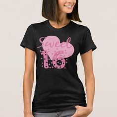 Sweet 16 Confetti T-Shirt
