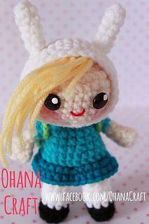 Fionna the Human Crochet Pattern by ohana craft