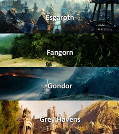 Places in Middle-Earth
