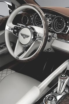 Bentley SUV Interior