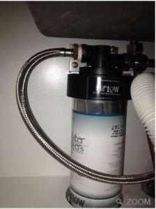 Everpure HiFlow Under Sink Mains Pressure Inline Water Filter System For Harsh Water