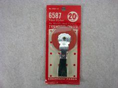 typewriter eraser OH MAN, I remember these!