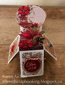 Good morning friends   Today's share is the Christmas card I made for friends and hand delivered along with a coordinating little gift for ...