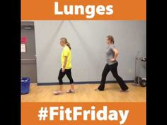 Fit Friday: Lunges