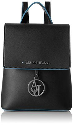 0126e6c4e17e Armani Jeans Saffiano Color Trim Backpack