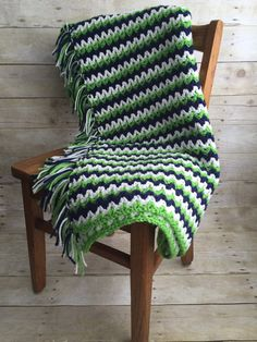 Seattle Seahawks Colors Inspired Handmade by kitchenklutter