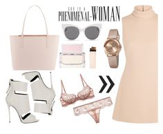Superwoman by nerma10 on Polyvore featuring Calvin Klein Collection, La Perla, Giuseppe Zanotti, Ted Baker, Akribos XXIV, Blanc & Eclare and Givenchy
