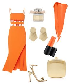 Melrose Orange and Black Dresses